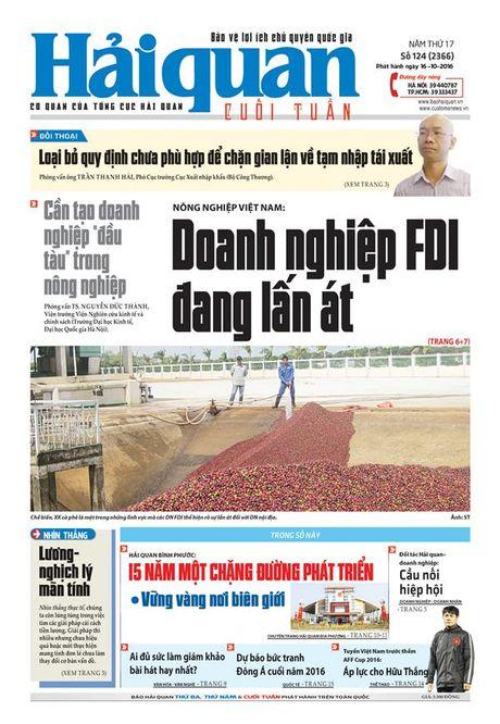 Nhung tin, bai hap dan tren Bao Hai quan so 124 phat hanh ngay 16-10-2016 - Anh 1