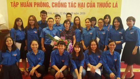 Tap huan Phong chong tac hai cua thuoc la cho doan vien thanh nien - Anh 2