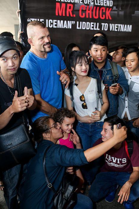 Huyen thoai UFC 'Nguoi bang' Chuck Liddell den Viet Nam - Anh 5