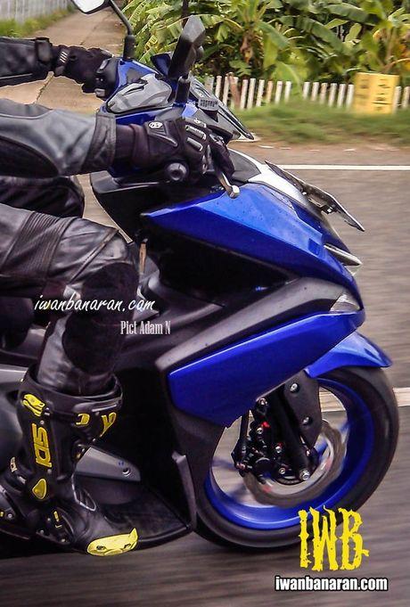 Mau xe thay the Yamaha Nouvo chay thu nghiem tai Indonesia - Anh 4