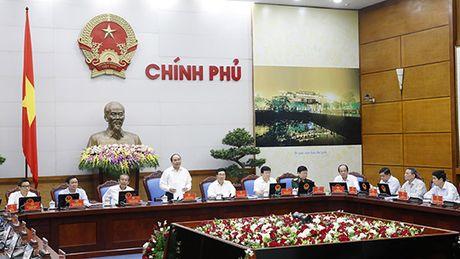 Nghi quyet phien hop Chinh phu thuong ky thang 9/2016 - Anh 1