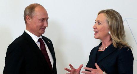Ba Clinton tung khen ngoi Tong thong Putin thu vi - Anh 1