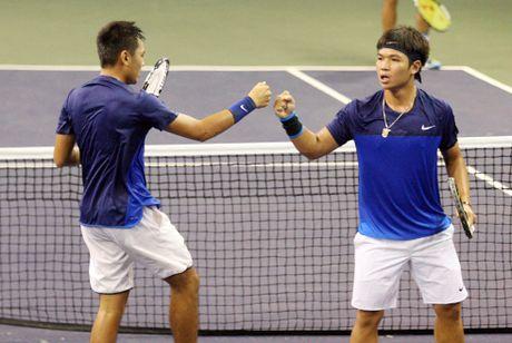 Hoang Nam - Hoang Thien vao tu ket Vietnam Open - Anh 1