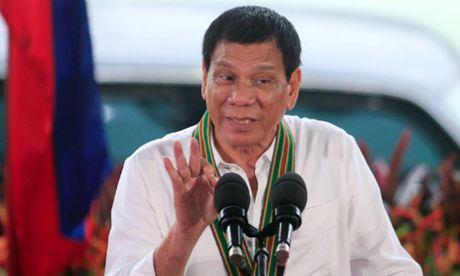 Tong thong Philippines yeu cau quan doi khong tap tran voi My - Anh 1