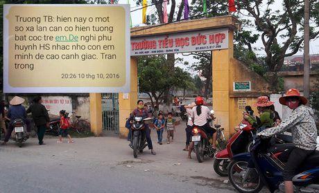 Hung Yen: Truong canh bao nan bat coc, phu huynh hoang mang lo lang - Anh 1
