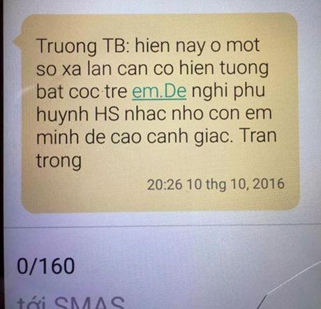 Hung Yen: Truong canh bao nan bat coc, phu huynh hoang mang lo lang - Anh 2