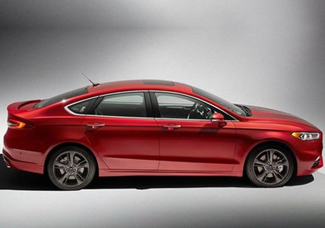 Ford nang cap Fusion quyet canh tranh cung xe Nhat - Anh 10