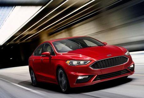 Ford nang cap Fusion quyet canh tranh cung xe Nhat - Anh 1