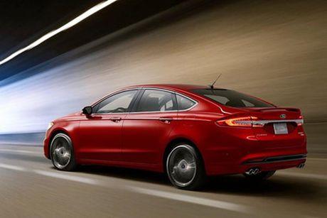 Ford nang cap Fusion quyet canh tranh cung xe Nhat - Anh 2