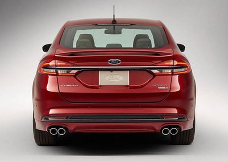 Ford nang cap Fusion quyet canh tranh cung xe Nhat - Anh 4