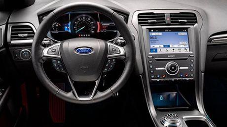 Ford nang cap Fusion quyet canh tranh cung xe Nhat - Anh 5