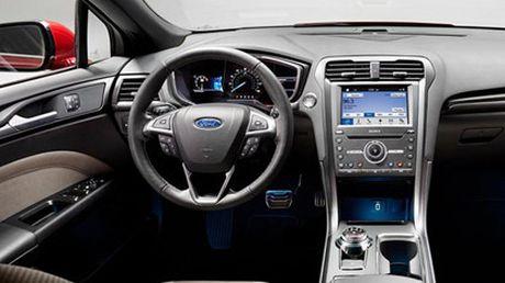 Ford nang cap Fusion quyet canh tranh cung xe Nhat - Anh 6