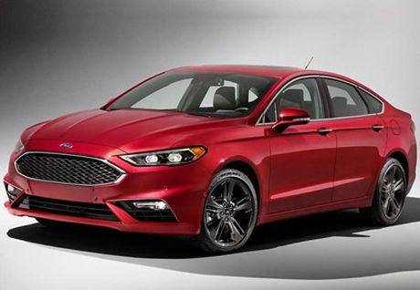 Ford nang cap Fusion quyet canh tranh cung xe Nhat - Anh 8