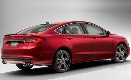 Ford nang cap Fusion quyet canh tranh cung xe Nhat - Anh 9