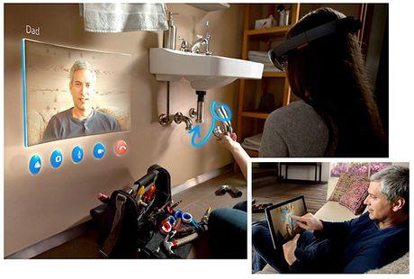Kinh thuc te ao HoloLens bat dau cho dat mua truoc - Anh 1