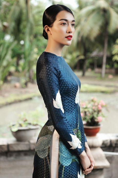 Thien Ly, Thuy Dung, Le Hang ton vinh ao dai Viet Nam - Anh 2