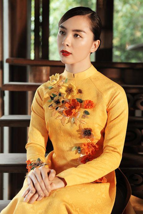Thien Ly, Thuy Dung, Le Hang ton vinh ao dai Viet Nam - Anh 5