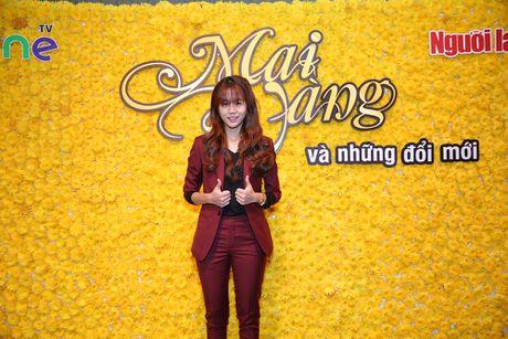 An Nguy noi bat voi phong cach nam tinh tai hop bao Mai Vang - Anh 1