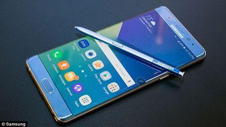 Samsung manh tay tieu huy toan bo Galaxy Note7 thu hoi - Anh 1