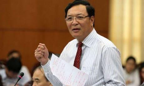 Nguyen Bo truong Giao duc ve truong cu giang day - Anh 1