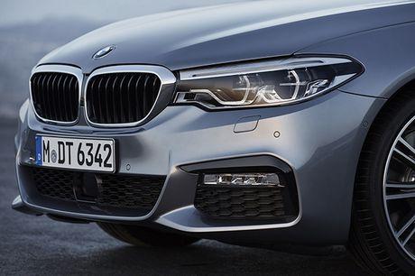 Hinh anh chinh thuc sedan hang sang BMW 5-Series 2017 - Anh 10