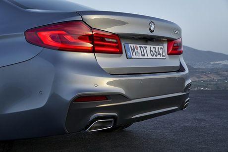 Hinh anh chinh thuc sedan hang sang BMW 5-Series 2017 - Anh 11