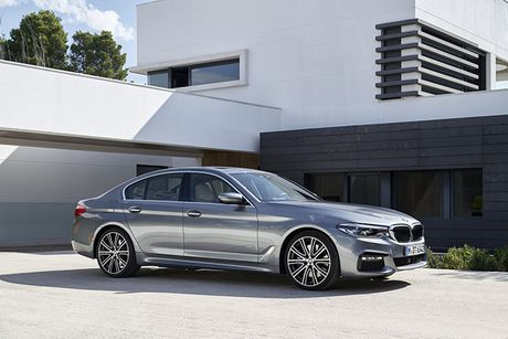 Hinh anh chinh thuc sedan hang sang BMW 5-Series 2017 - Anh 1