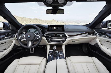 Hinh anh chinh thuc sedan hang sang BMW 5-Series 2017 - Anh 2