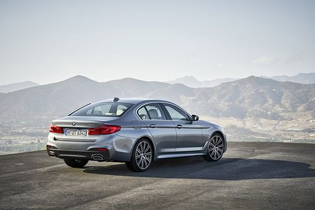 Hinh anh chinh thuc sedan hang sang BMW 5-Series 2017 - Anh 3