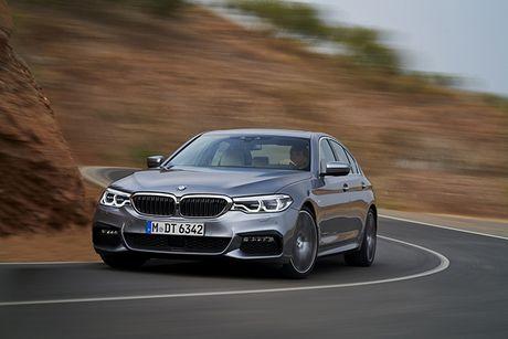 Hinh anh chinh thuc sedan hang sang BMW 5-Series 2017 - Anh 5