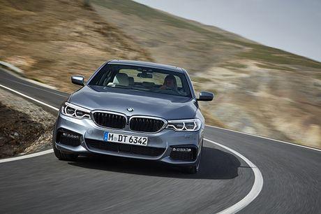 Hinh anh chinh thuc sedan hang sang BMW 5-Series 2017 - Anh 6