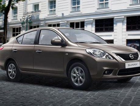 Nissan Sunny giam gan 30 trieu tu thang 10 - Anh 1