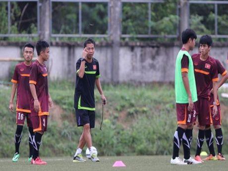 Don tam ly cua ban huan luyen U-19 Viet Nam - Anh 1