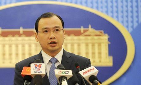 De nghi Trung Quoc trao doi thong tin ve cac du an dien hat nhan sat bien gioi - Anh 1