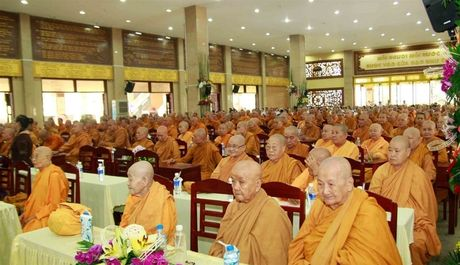 He phai Khat si ky niem 35 nam thanh lap Giao hoi Phat giao Viet Nam - Anh 3