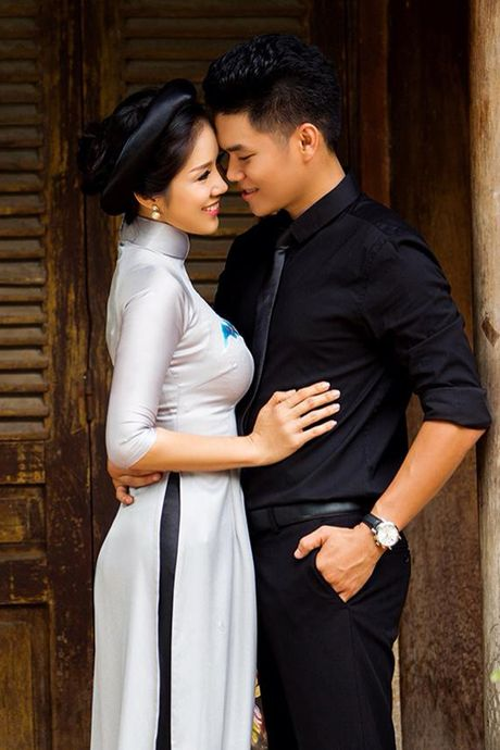 Ban trai kem 7 tuoi up mo sap cuoi Le Phuong - Anh 1
