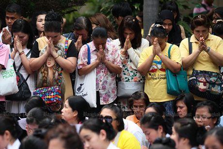 Thai Lan tran ngap mau hong, cau nguyen cho Nha Vua - Anh 2