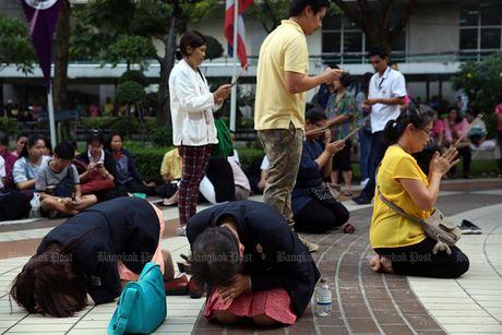 Thai Lan tran ngap mau hong, cau nguyen cho Nha Vua - Anh 5
