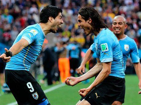 Voi Luis Suarez, Uruguay mo toang moi khung thanh - Anh 1