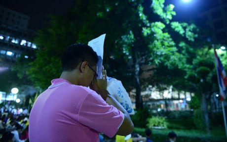 Suc khoe Nha vua Adulyadej chuyen bien xau, dan Thai Lan lo lang - Anh 1