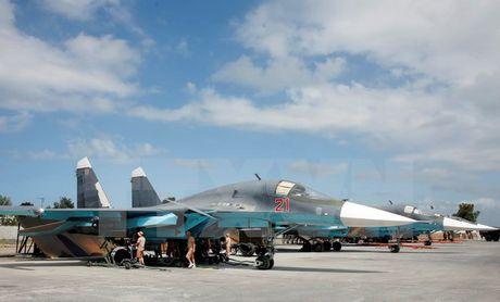 Nga to chuc dien tap bang may bay nem bom Su-34 moi - Anh 1