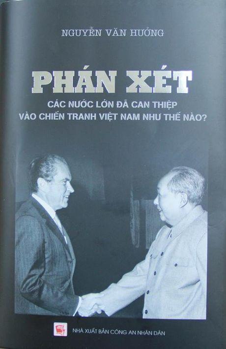 Chien tranh VN va can thiep cua nuoc lon qua goc nhin tuong Cong an - Anh 1