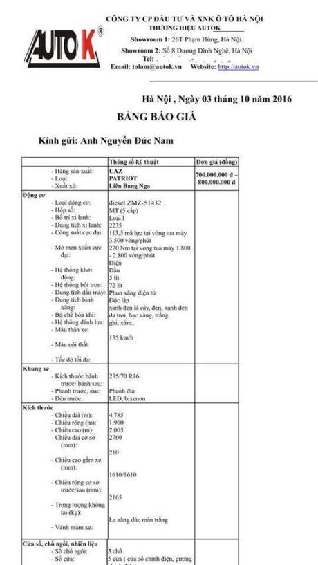 Viet Nam - Nga san xuat oto, mo gia re thanh hien thuc - Anh 2
