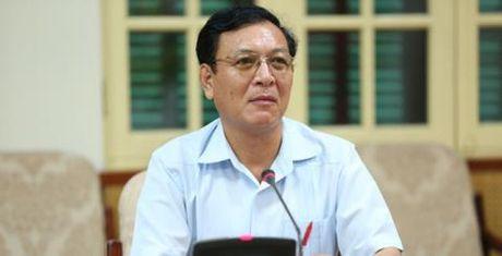 Nguyen Bo truong Pham Vu Luan se di day - Anh 1