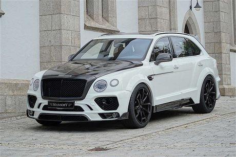 Mansory tung goi do moi cho SUV Bentley Bentayga - Anh 1
