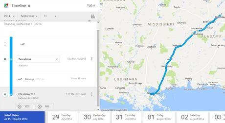 Cach xem lai lich su vi tri tren Google Map - Anh 10