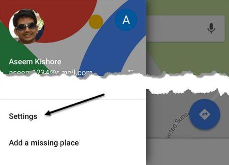 Cach xem lai lich su vi tri tren Google Map - Anh 6