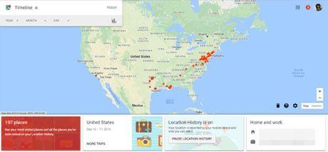 Cach xem lai lich su vi tri tren Google Map - Anh 9