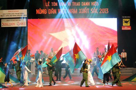 MC Hoai Anh dan chuong trinh Le trao giai Tu hao Nong dan Viet Nam - Anh 2