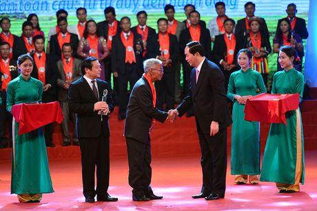 Chu tich nuoc Tran Dai Quang: Vi the giai cap nong dan ngay cang duoc nang cao - Anh 2